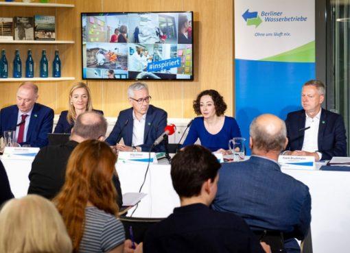 Jahres-Bilanz der Berliner Wasserbetriebe 2018