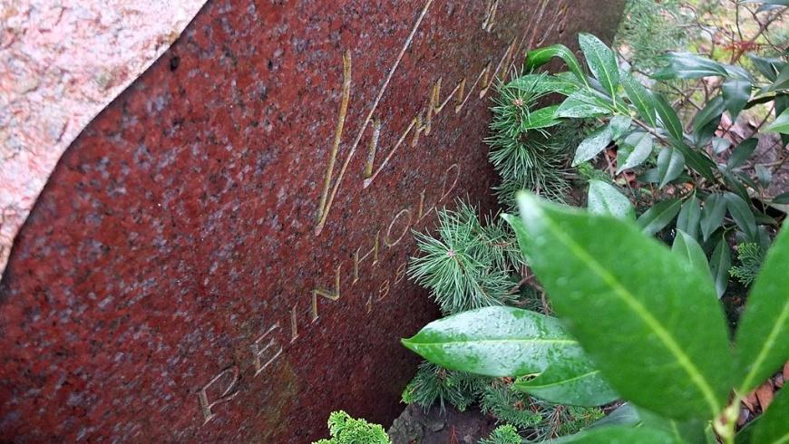 Grabstein von Reinholf Habisch