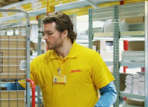 DHL setzt auf Datenbrillen