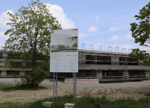 Baustelle des Leonardo-da-Vinci-Gymnasium