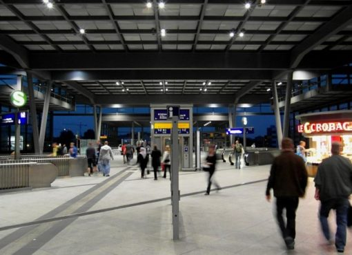 Ringbahnhalle Bahnhof Südkreuz