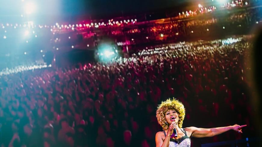 """ESTREL: Tina Turner in der """"Stars in Concert"""" Tina Turner"""