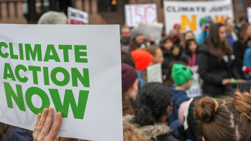 Fridays for Future at »Schoolyard«