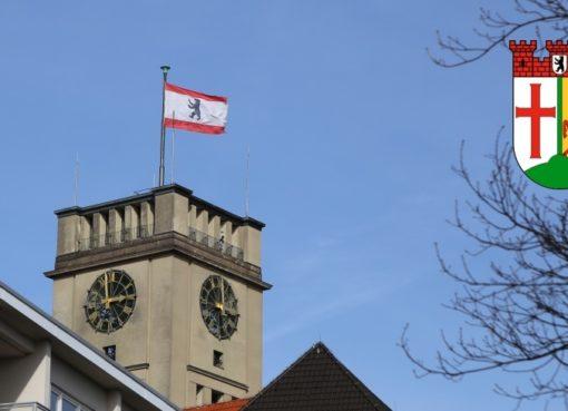 Rathaus Schöneberg im Bezirk Tempelhof-Schöneberg - Foto: tsz