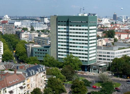 Drehscheibe der Wirtschaftsförderung: Hochhaus der InvestititiDrehscheibe der Wirtschaftsförderung: Hochhaus der Investititionsbank Berlin (IBB) onsbank Berlin (IBB)