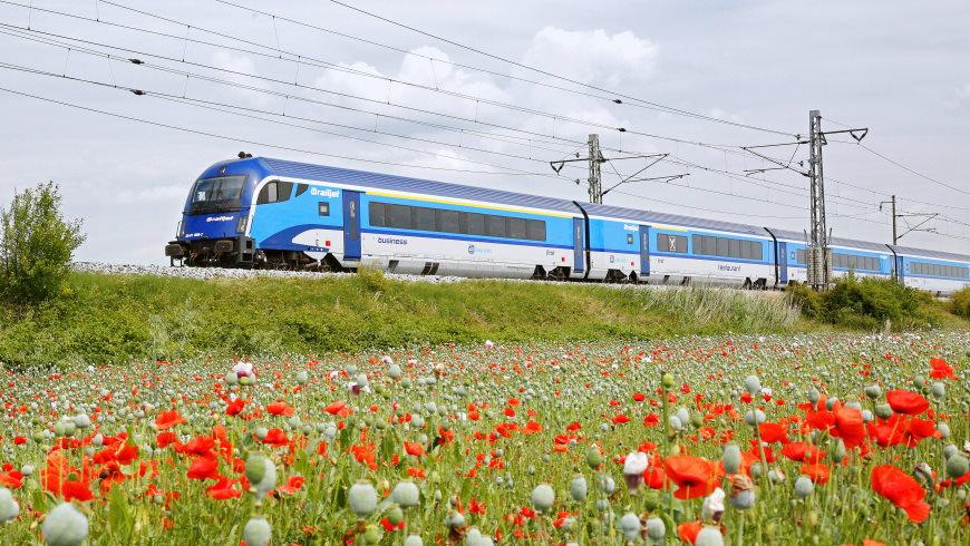 """""""Railjet"""" Berlin - Prag - Wien - Graz"""