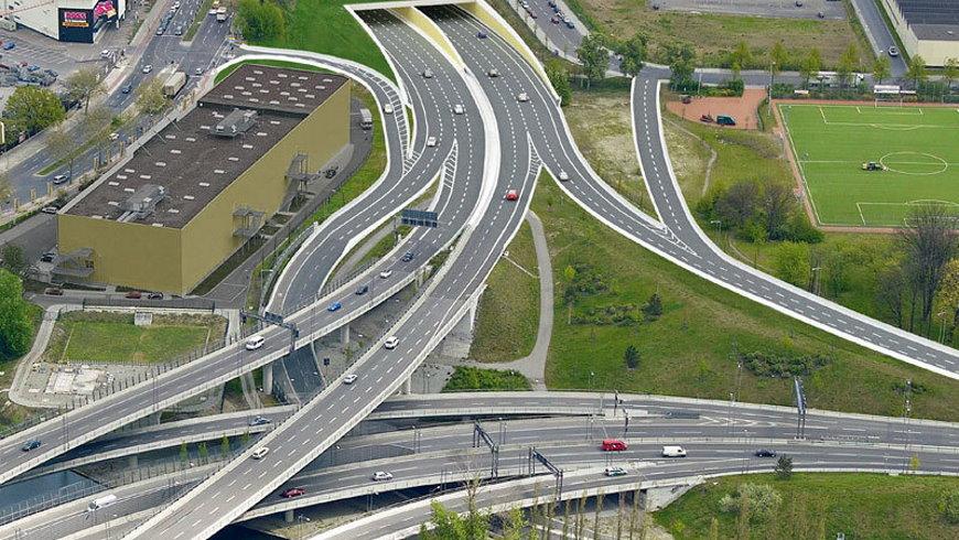 A100 Autobahndreieck Grenzallee