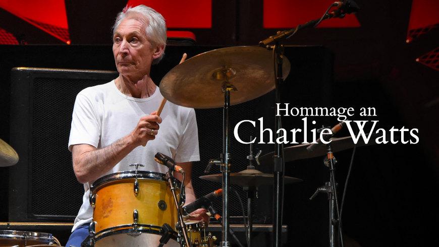 """Rolling Stones""-Schlagzeuger Charlie Watts"