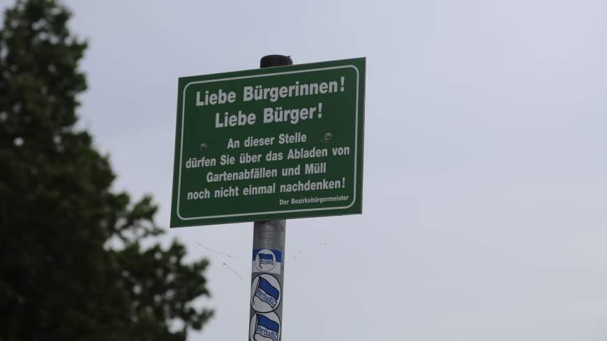 Verhaltensökonomie: Denkanstoß statt Verbot im Bezirk Reinickendorf - Foto: m/s